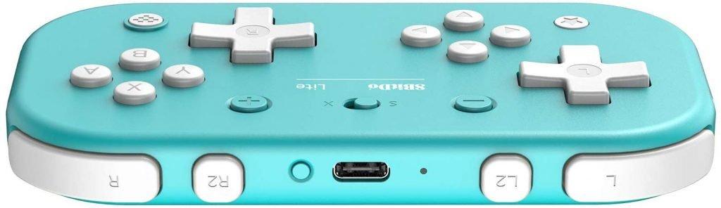 8BitDo anuncia um novo controle especialmente feito para o Switch Lite