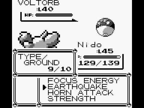 Glitches e erros de Pokémon Red & Blue