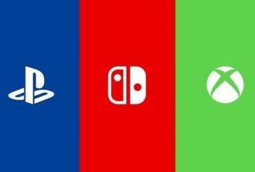 Qual console está vendendo mais atualmente?