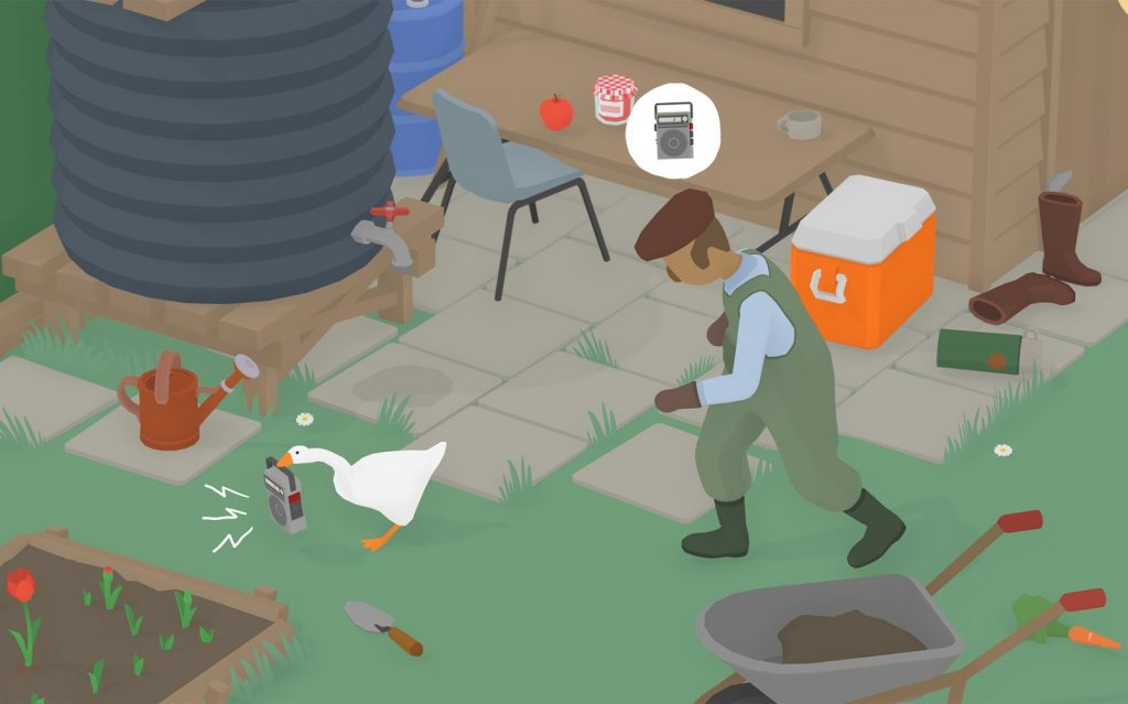Untitled Goose Game - O jogo do Ganso e suas confusões