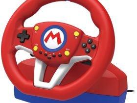 """HORI anuncia o """"Mario kart Racign Wheel"""""""
