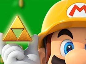 Nintendo promove Link's Awakening com fases temáticas de Super Mario Maker 2