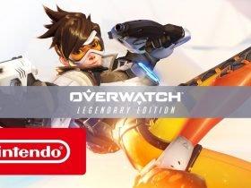 Versão física de Overwatch para o Switch será apenas um código de download