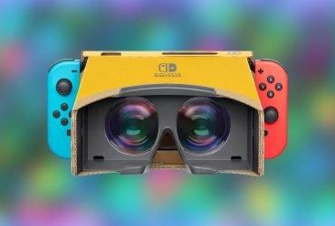 Nintendo registra patente de novo Headset VR para Switch