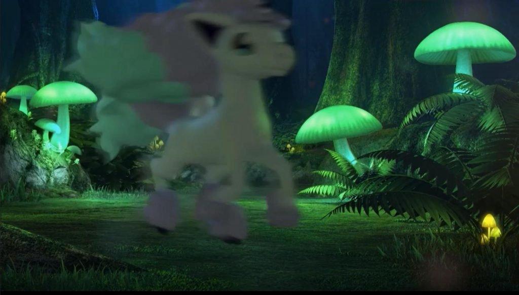 Galarian Ponyta apresentada para Pokémon Sword & Shield