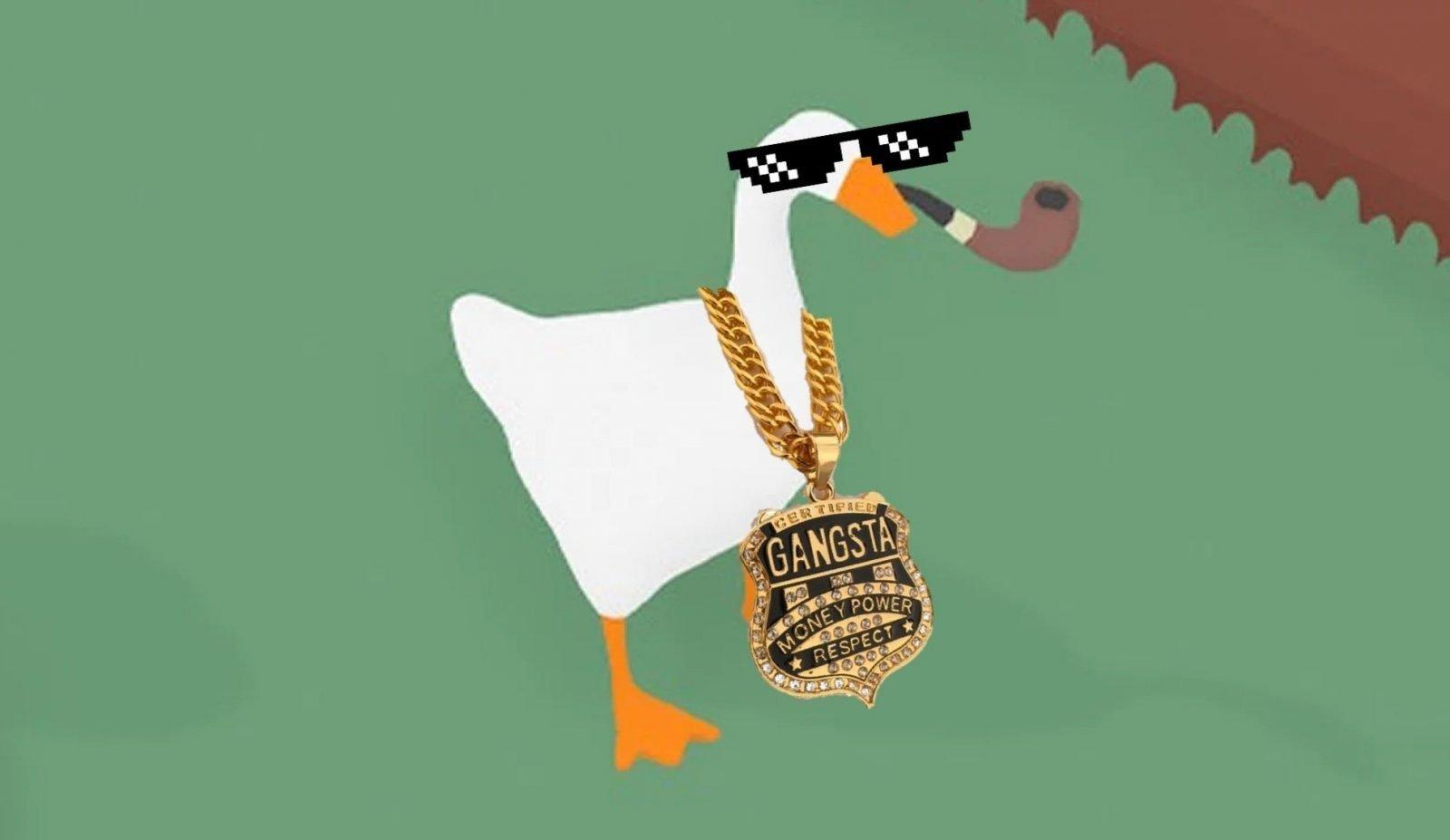 """Alguém fez uma playlist fake """"Trilha sonora oficial de Untitled Goose Game"""" no Spotify"""