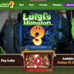 Novo site de Luigi's Mansion é lançado com novos vídeos do jogo para Switch