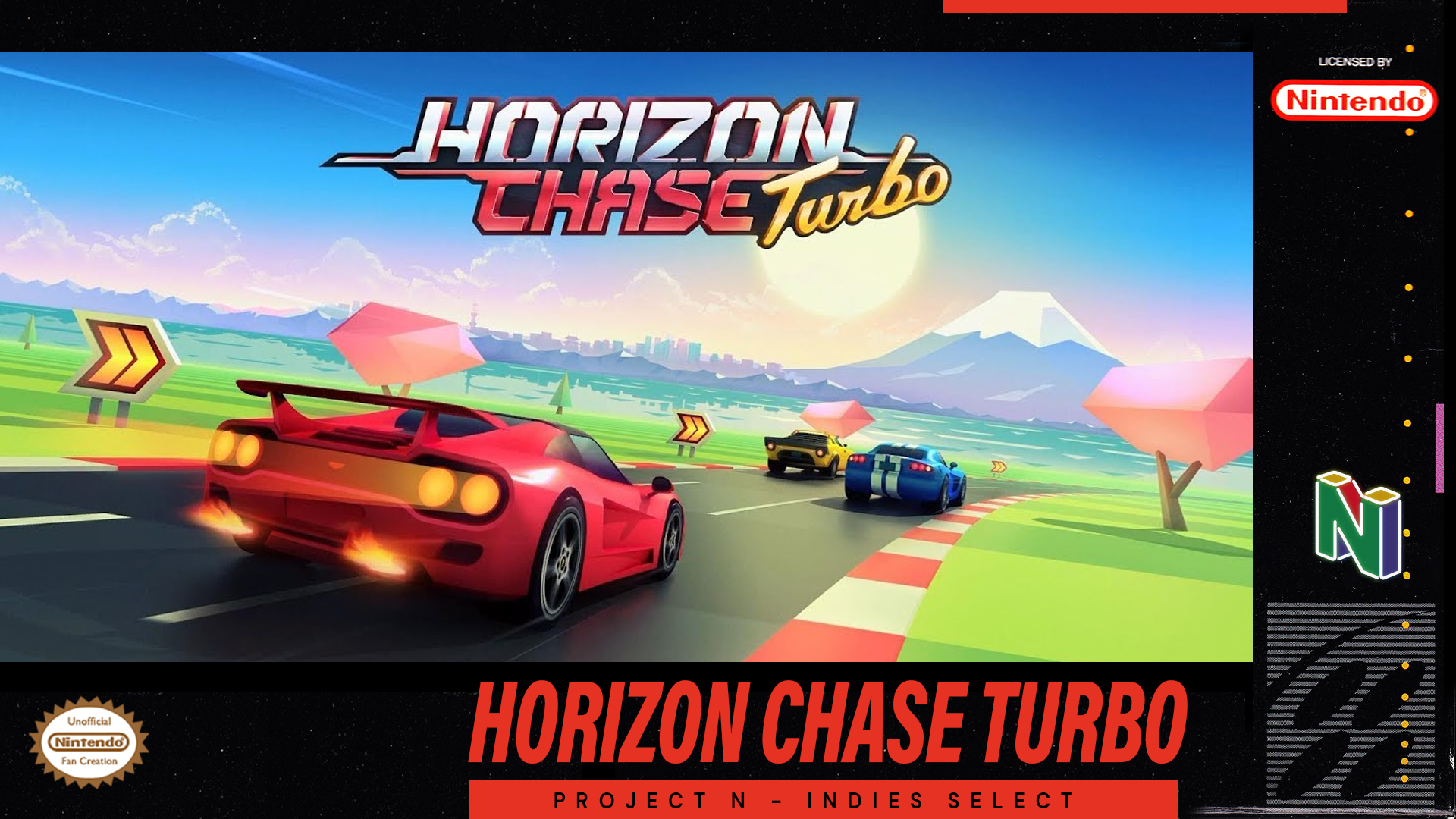 Project N Cast - Indies Select #1 - Horizon Chase Turbo