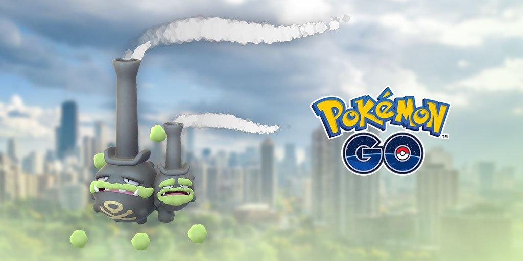 Pokémon Go: Weezing de Galar chega ao jogo