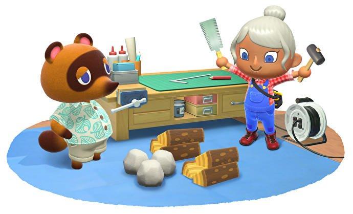 Nintendo divulga novas imagens de Animal Crossing: New Horizons mostrando opções de customização