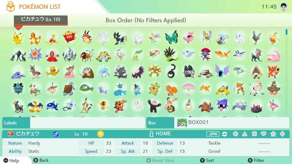 The Pokémon Company divulga detalhes do Pokémon Home