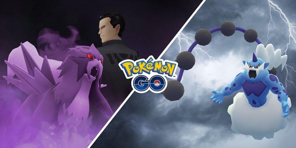 Pokémon GO - Março Entei Sombroso Thundurus