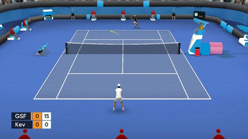 Tennis Open 2020 - Com melhor jogabilidade seria um Golden Set
