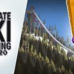 Ultimate Ski Jumping 2020 - Premissa básica e dificuldade avançada