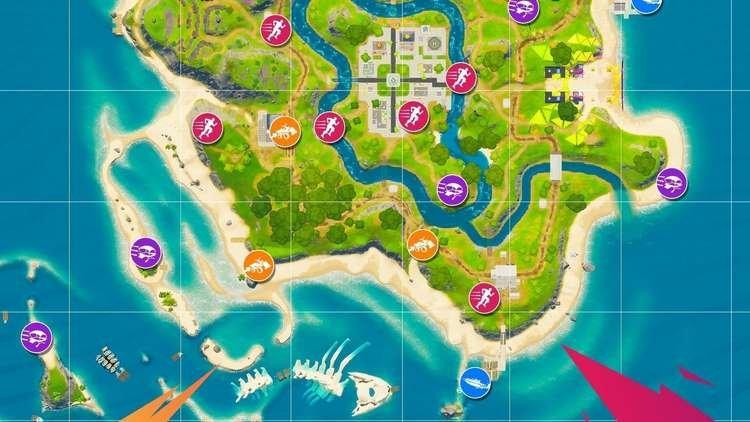 Fortnite está recebendo uma nova ilha com modo de jogo sem combate