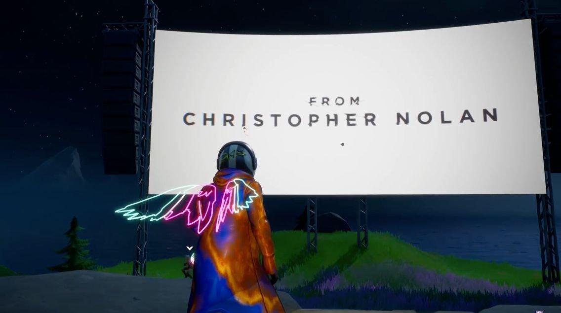 Jogadores de Fortnite poderão assistir um filme completo de Christopher Nolan