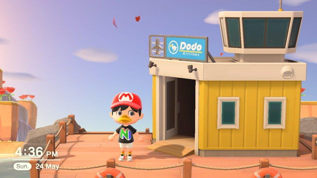 A cor do seu aeroporto em Animal Crossing: New Horizon determina quais variantes de cores você recebe em suas lojas