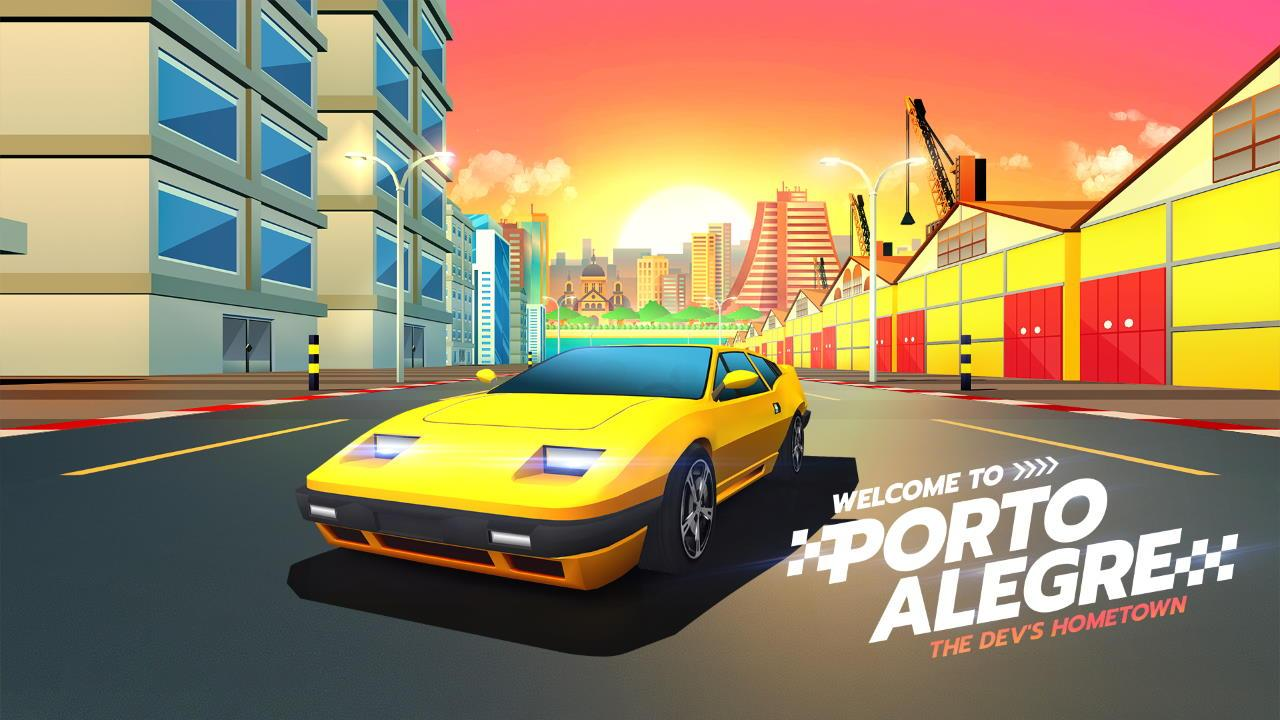 Horizon Chase Turbo - The Devs Hometown - Porto Alegre