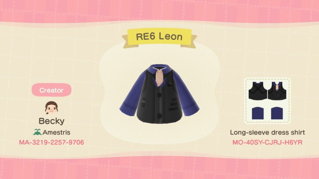 Designs de Resident Evil para Animal Crossing: New Horizons