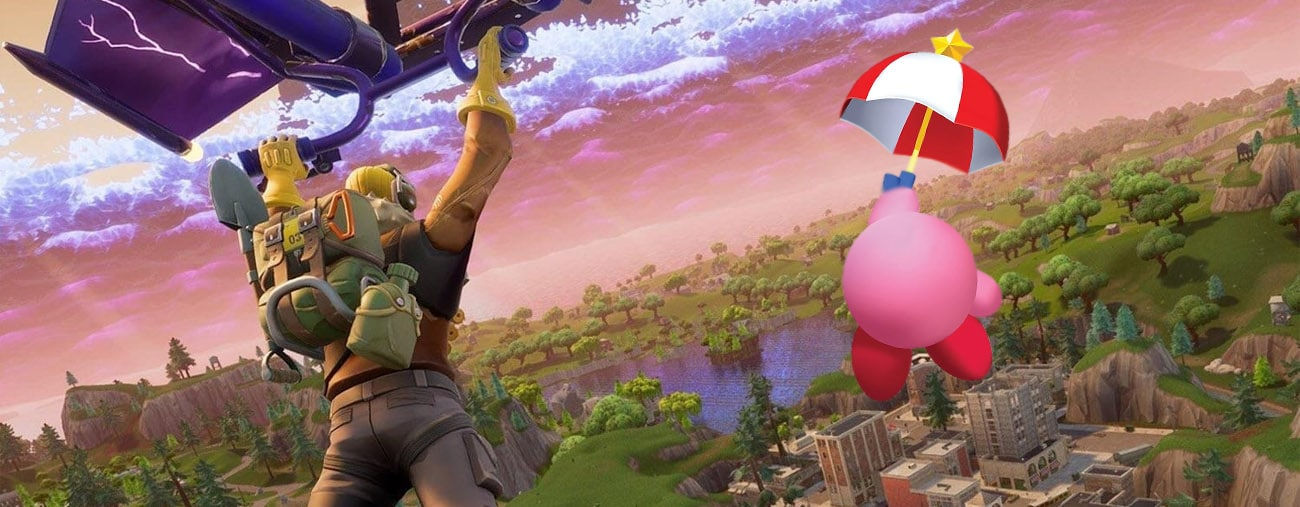 Kirby aparece em trailer do modo 'Party Royale' de Fortnite