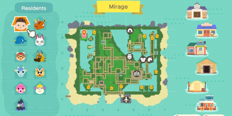 Fã recria o mapa de Sinnoh em Animal Crossing: New Horizons