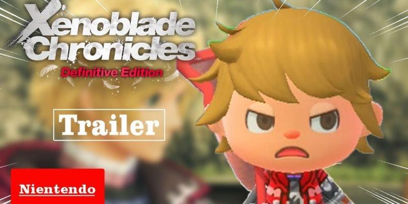 Fã cria trailer em Animal Crossing baseado em Xenoblade Chronicles: Definitive Edition