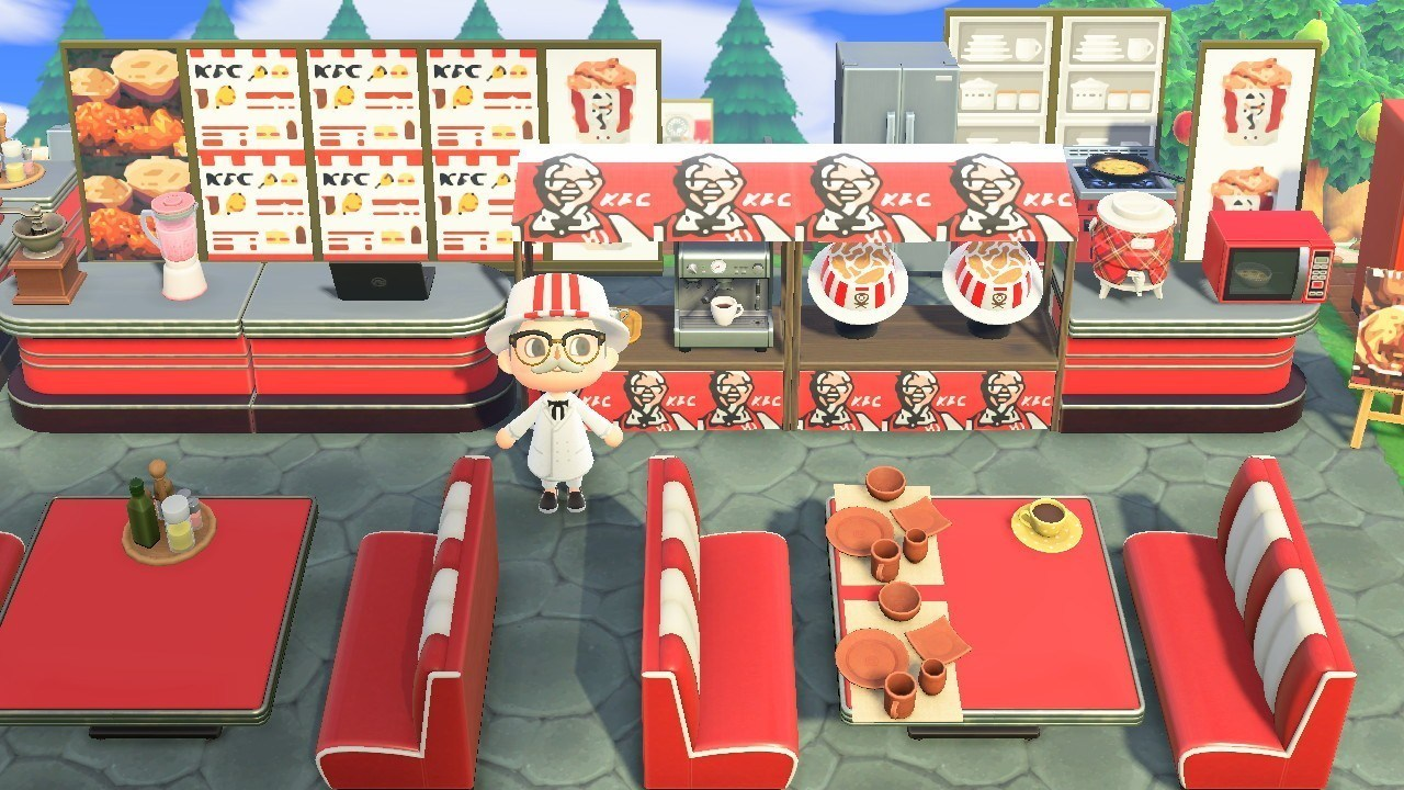 KFC Animal Crossing: New Horizons