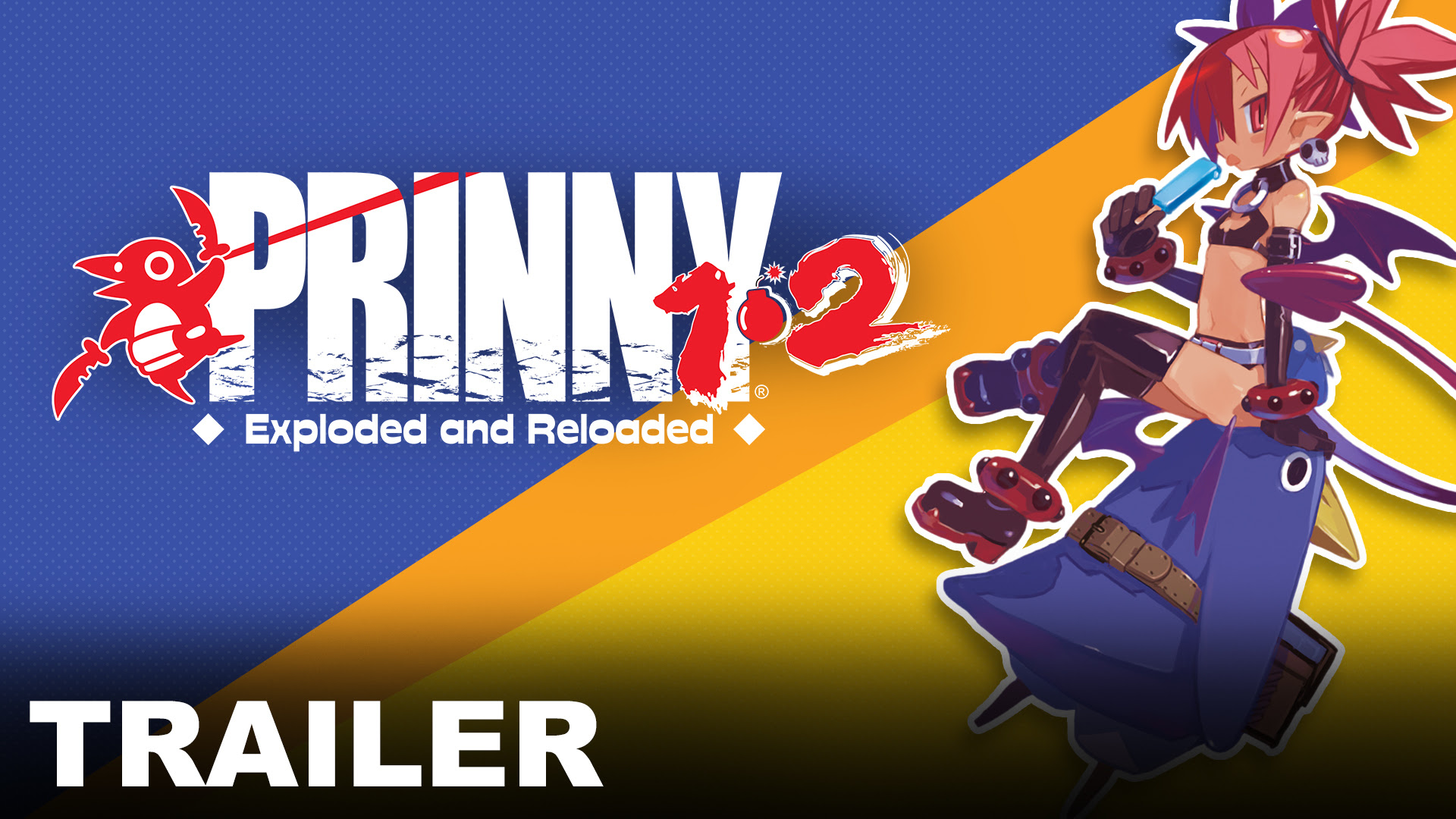 Prinny® 1•2: Exploded and Reloaded