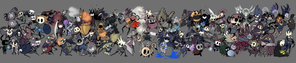 Um fã de Super Smash Bros. está reimaginando cada lutador como parte de Hollow Knight
