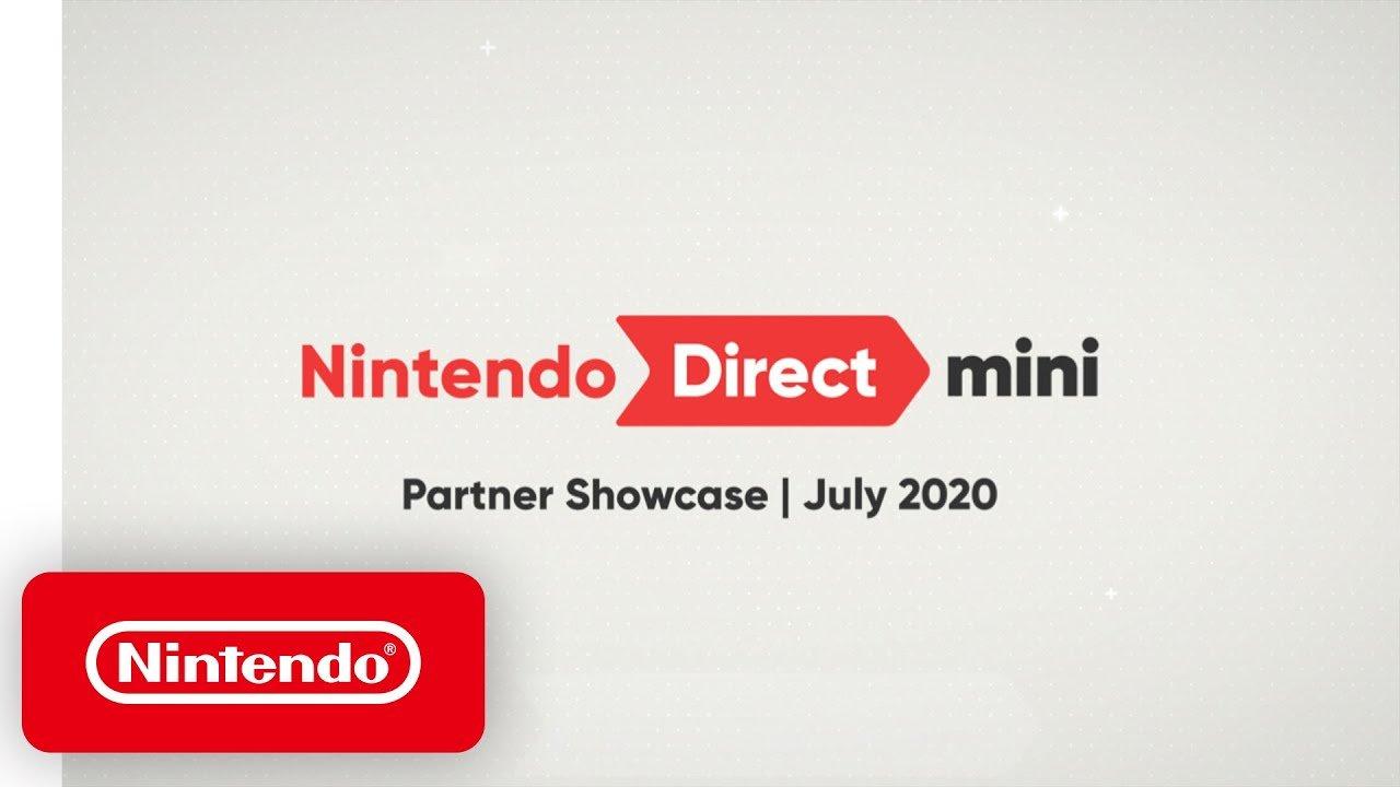 Anúncios da Nintendo Direct Mini: Partner Showcase - Julho de 2020