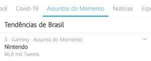 Nintendo Switch chegará oficialmente ao Brasil