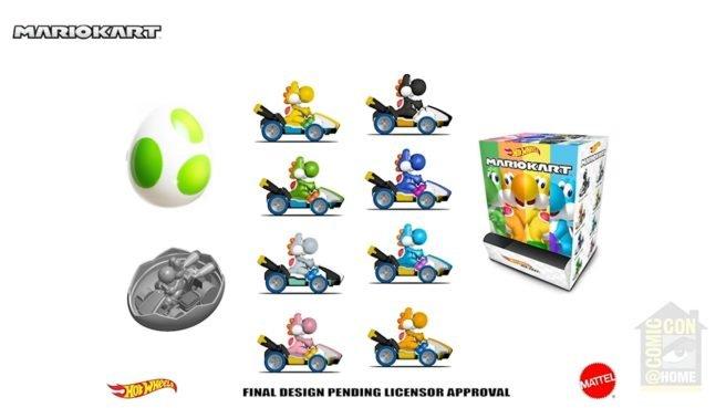 Hot Wheels apresenta nova linha de produtos Mario Kart