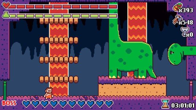Prehistoric Dude: metroidvania 8-bit chega ao Switch em Agosto