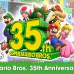 Nintendo lança Direct para comemorar o aniversário de 35 anos do Super Mario