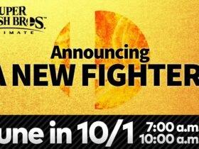 Novo lutador DLC de Super Smash Bros. Ultimate será anunciado amanhã