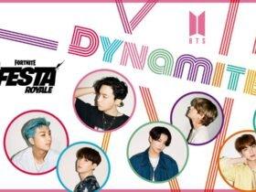 """Novo clipe """"Dynamite"""" do grupo de K-Pop BTS vai estrear em Fortnite"""