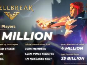 Spellbreak atinge a marca de 5 milhões de jogadores e Brasil é o terceiro colocado em número total