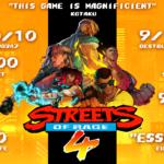 Streets of Rage 4 ganha nova grande atualização após mais de 1,5 milhão de vendas
