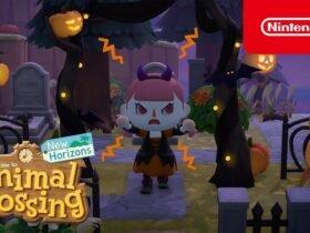 Animal Crossing: New Horizons: novo update de halloween traz abóboras, fantasias e mais