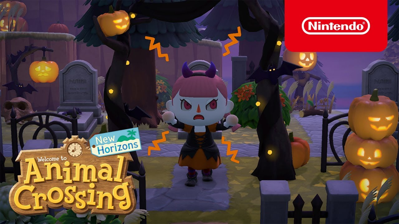 Animal Crossing: New Horizons: novo update de halloween traz abóboras, fantasias e mais