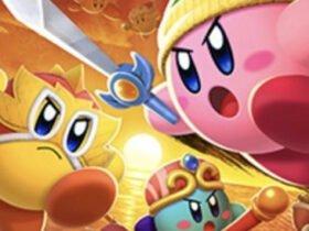 Kirby Fighters 2 aparece sem anúncio no site do Nintendo Switch