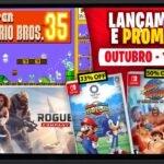 Lançamentos para Nintendo Switch: de 28 de Setembro a 04 de Outubro