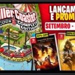 Lançamentos para Nintendo Switch: 21 a 27 de Setembro