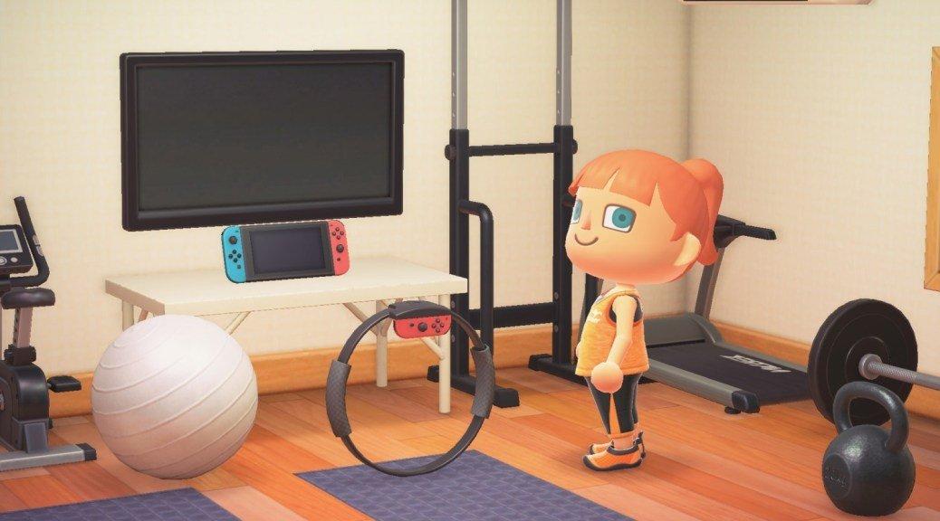 Ring-Con de Ring Fit Adventure vira item em Animal Crossing: New Horizons