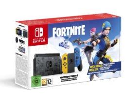 Fortnite está recebendo sua versão exclusiva do Nintendo Switch