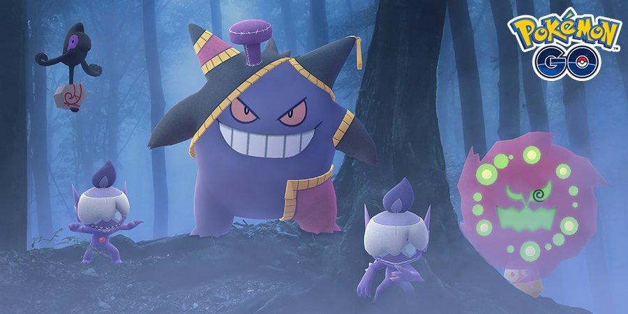 Niantic anuncia evento de Halloween em Pokémon GO