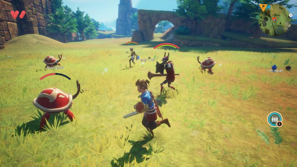 Oceanhorn 2: lançamento no Switch anunciado pela desenvolvedora