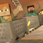 Smash Bros Steve Minecraft