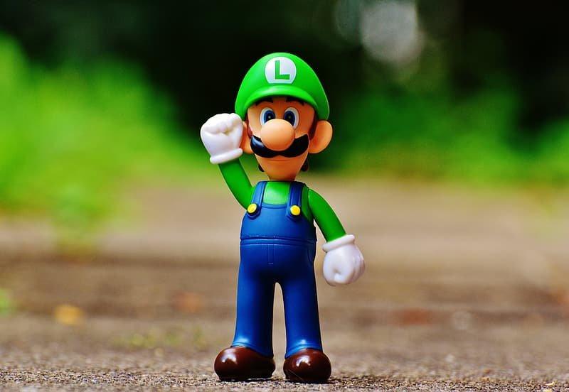 Player 2 - Eu sempre escolhia o Luigi