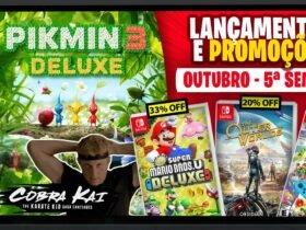 Lançamentos para Nintendo Switch de 26 de Outubro a 1º de Novembro